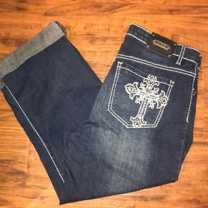 Luxe name brand jeans